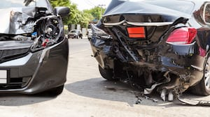 car insurance accident on street