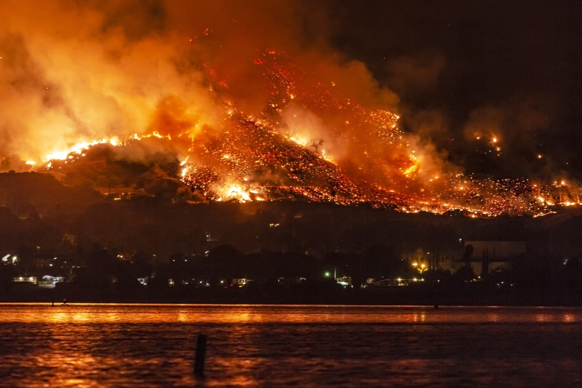 does homeowners insurance cover wildfires