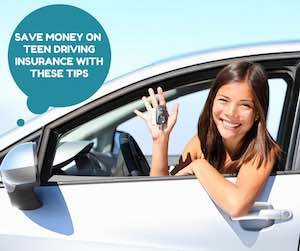 save money on car insurance for teen drivers