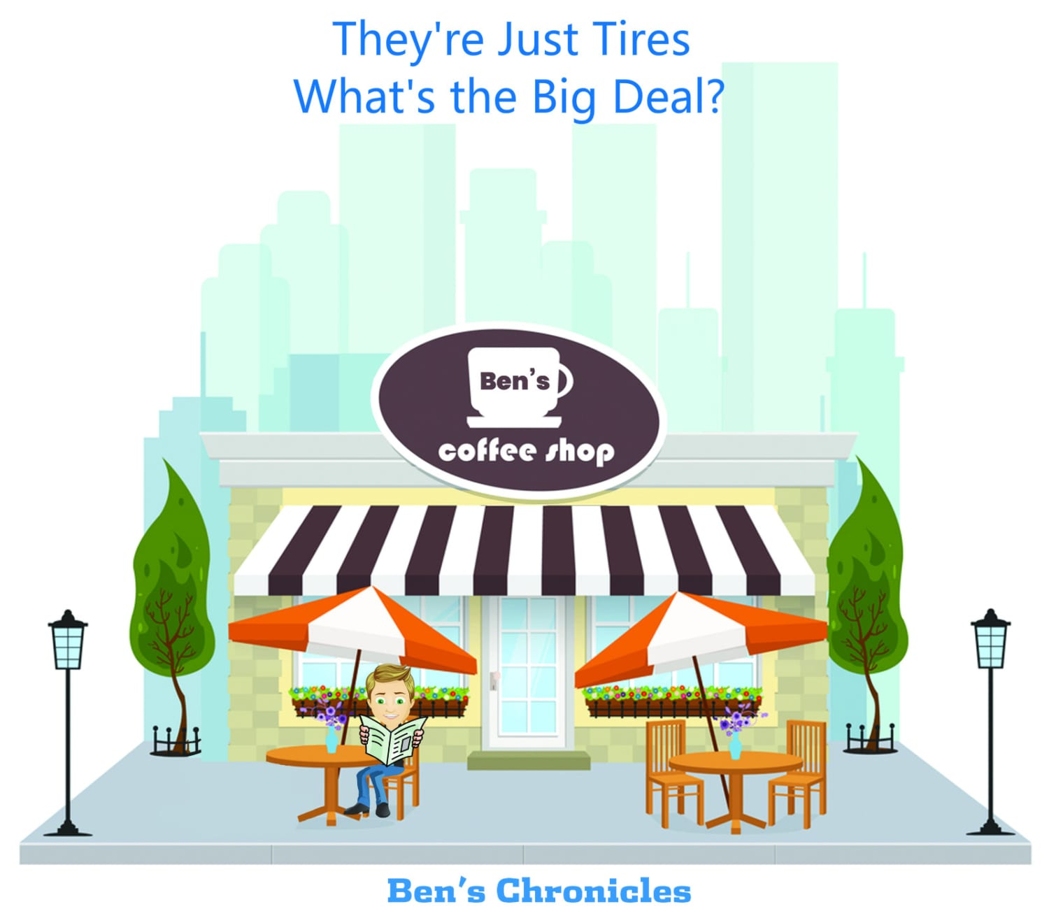 they are just tires