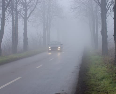 tips for driving in fog