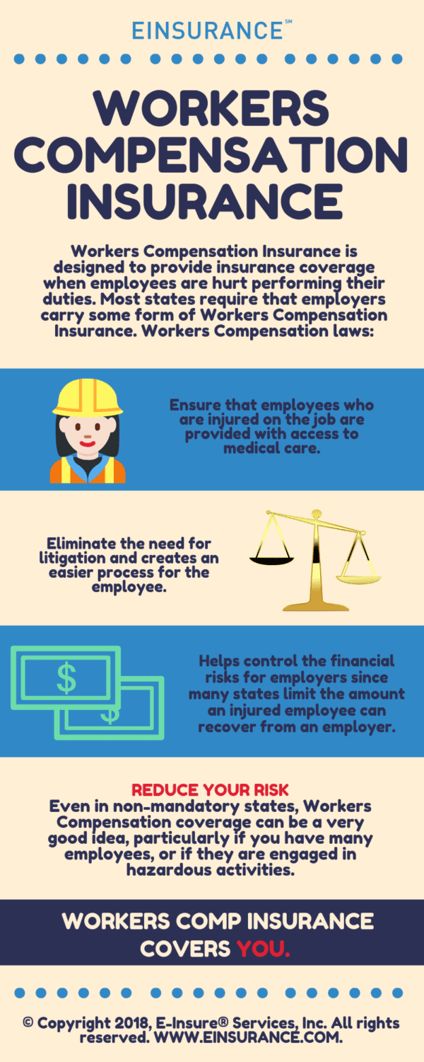 workers compensation insurance infographic